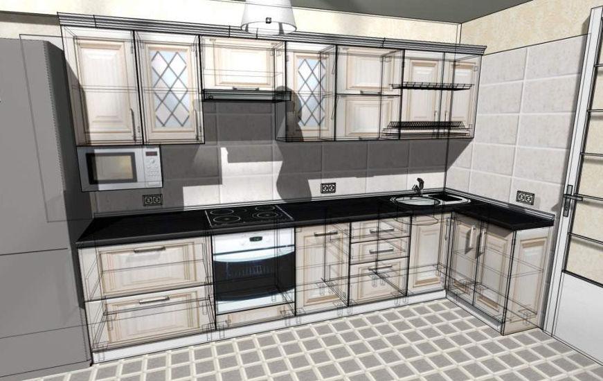 3D Дизайн на кухни