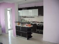 Кухненско обзавеждане - Венге и бял гланц