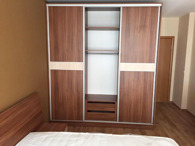 Спално обзавеждане - Орех дижон и акация лайкленд