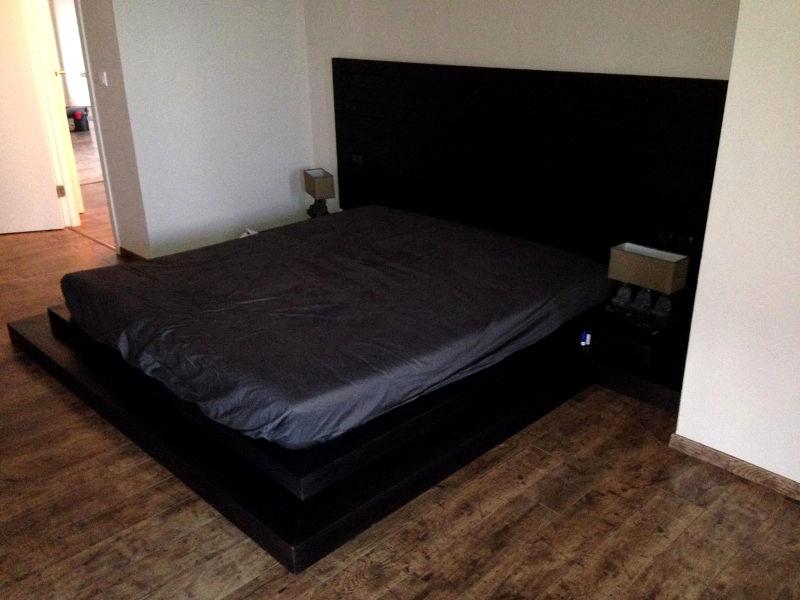 Спалня - Естествен фурнир дъб и венге