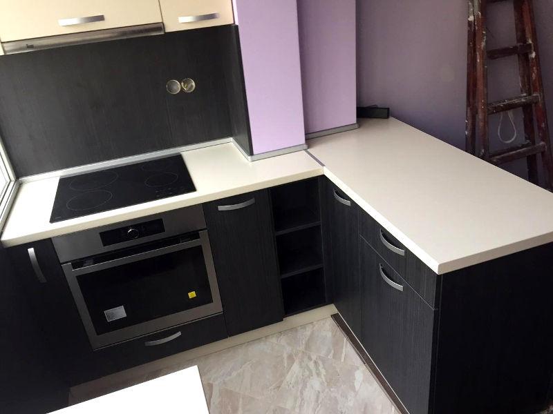Кухненско обзавеждане - Дъб ферара и крем
