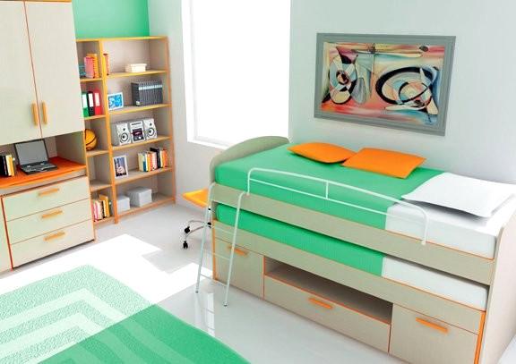 Обзавеждане за детска стая - Различни цветове