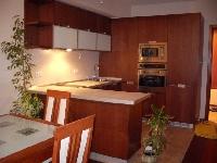 Кухненско обзавеждане - Орех и бял лакобел